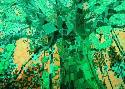 Baum Lichtfarbe grün