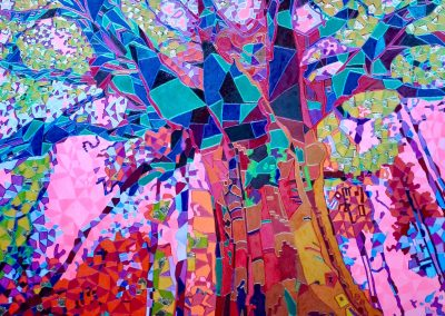 Baum Lichtfarbe weiss