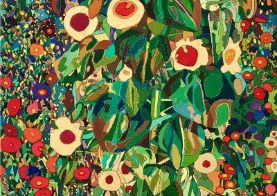 Adaption Bauergarten (Klimt) Original Tageslicht