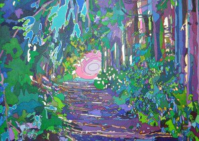 Wald bei Wolkenstein Tageslicht