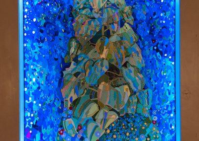 im Rahmen hellblau