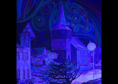 Sleepless - Polarlights only for me  Blauviolett